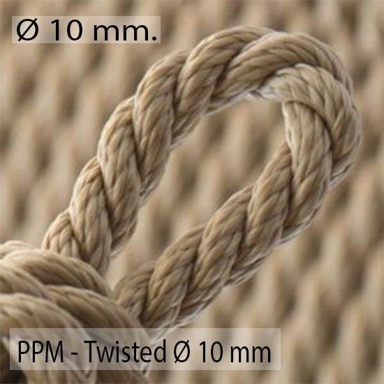 Twisted Ø 10mm.