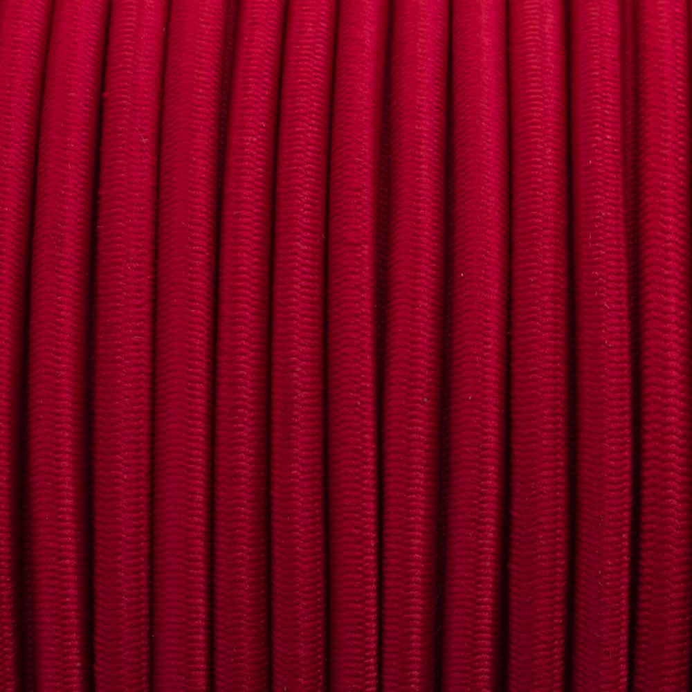 Imperial Red - Elastic Cord 4 mm
