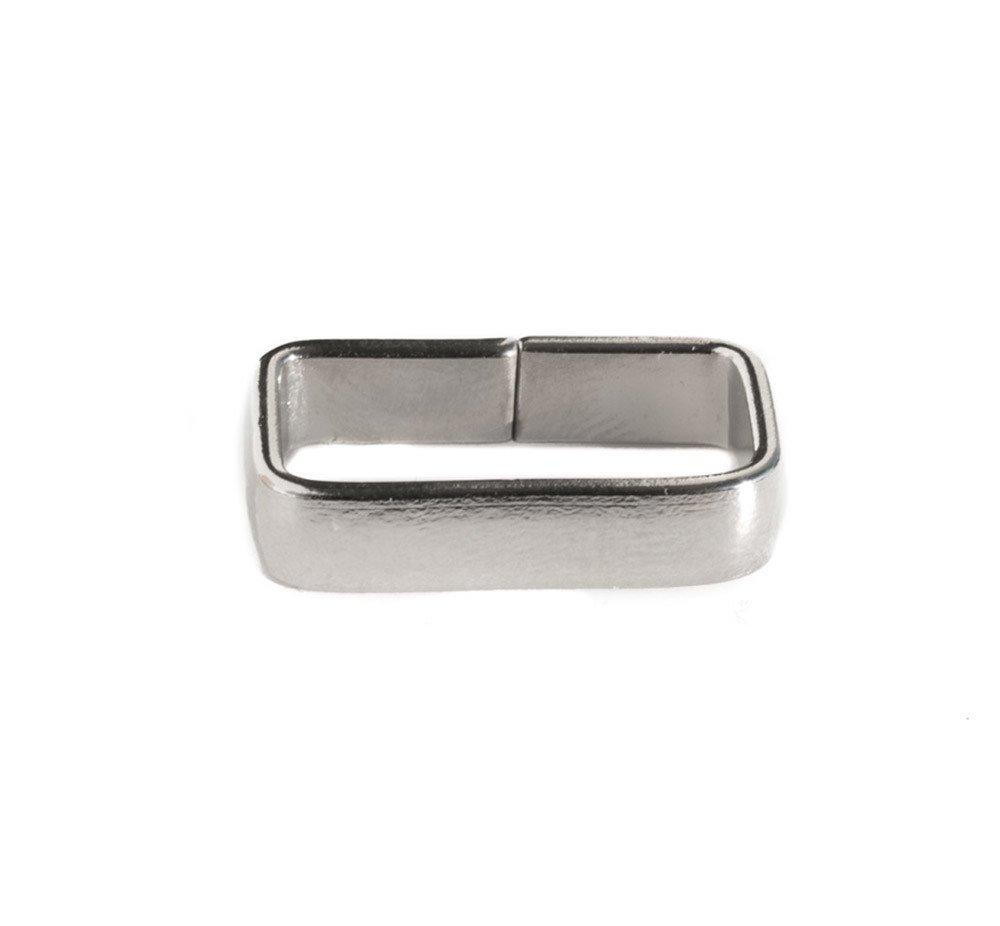 Metal Square Ring Flat 17 mm.