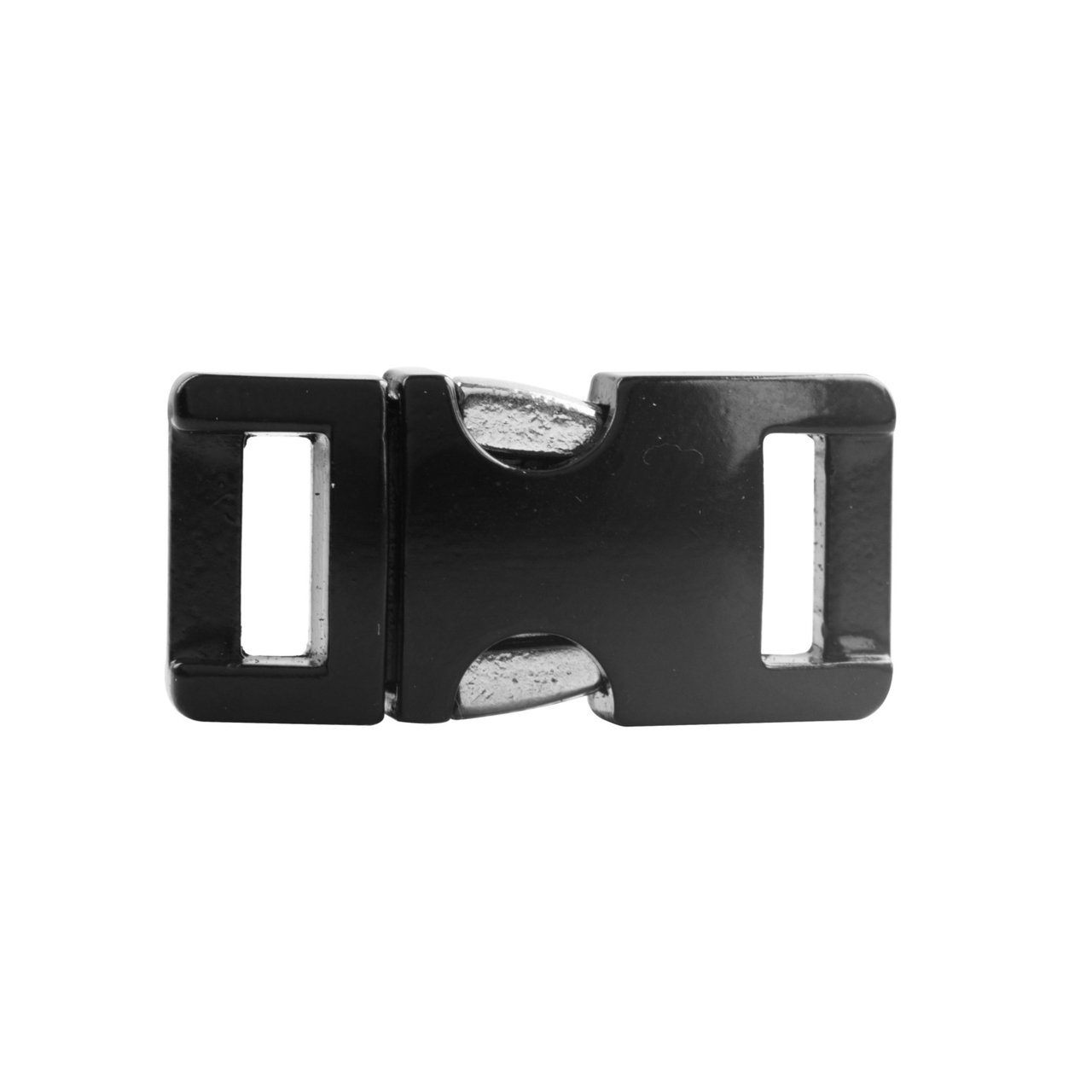 Aluminium Buckle Black 3/8 (10 mm).