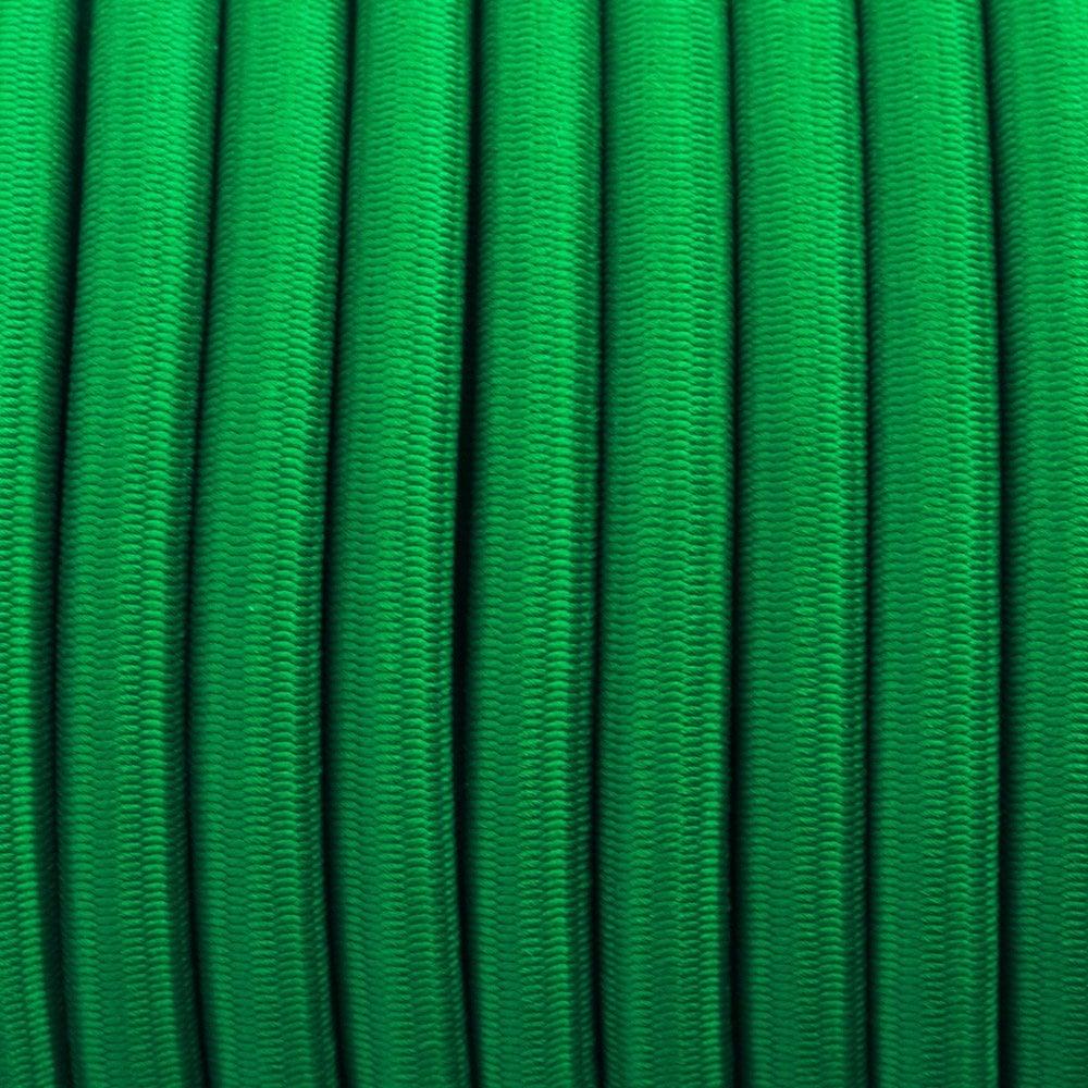 Kelly Green - Elastic Cord 6 mm