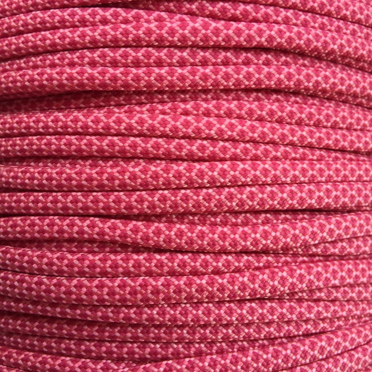Rose Pink & Fuchsia Diamonds Paracord Type III
