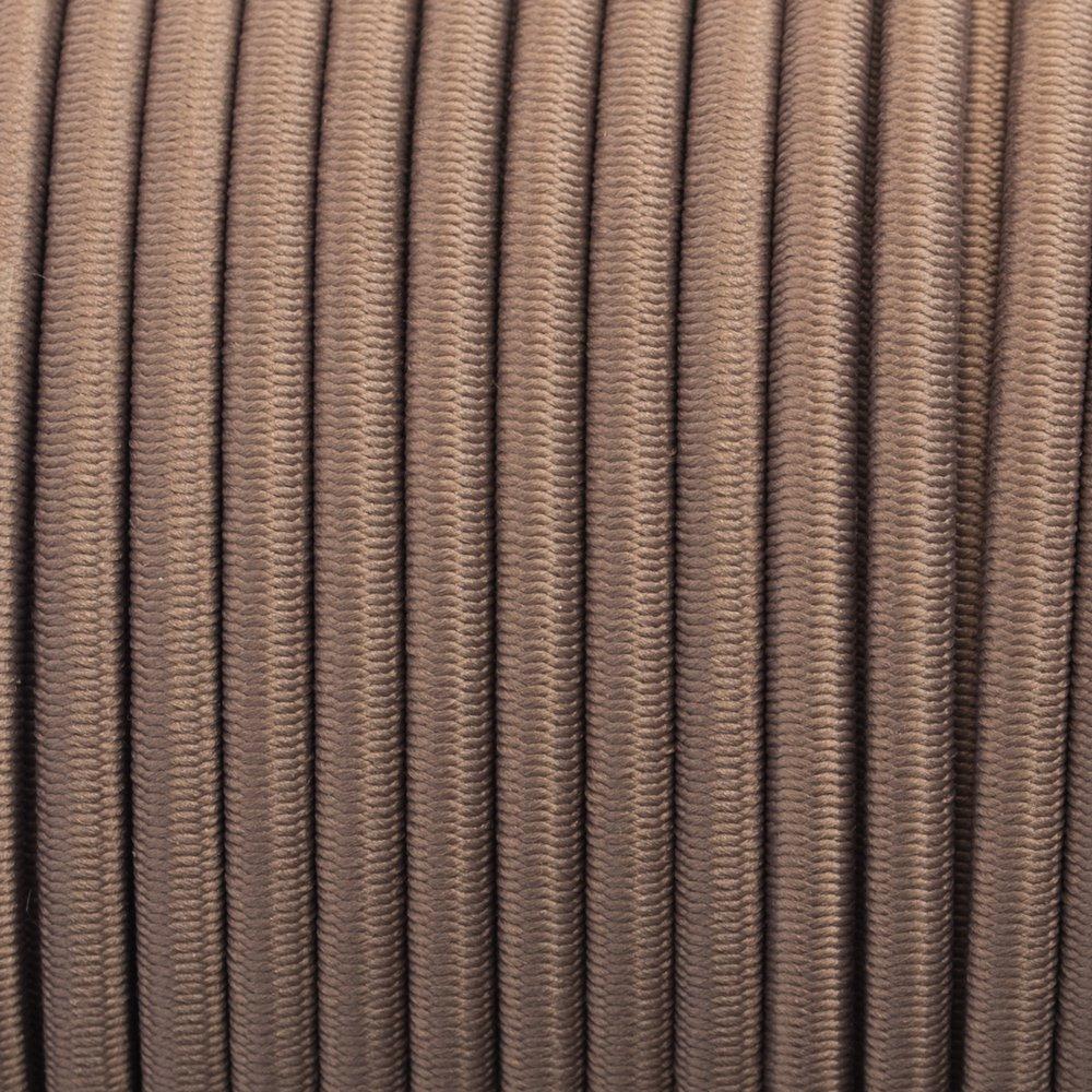 Tan - Elastic Cord 4 mm