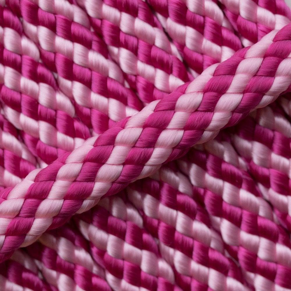Pink Ribbon PPM Cord - Ø 8mm. (hollow)