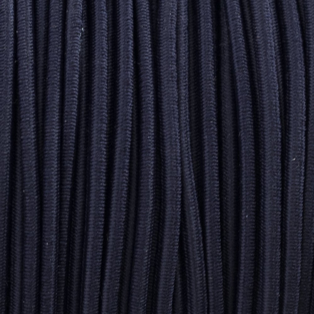 Midnight Blue - Elastic Cord 2 mm