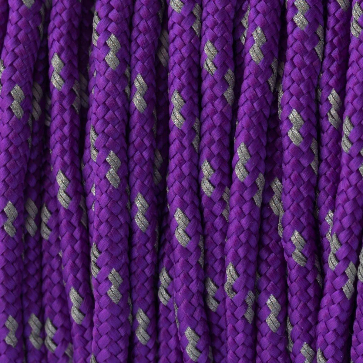 Reflectable Acid Purple Paracord Type II
