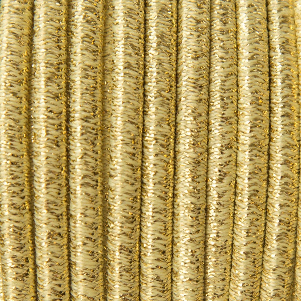 Bling Bling Gold - Shock Cord 5 mm
