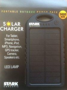 Solar Charger - Black