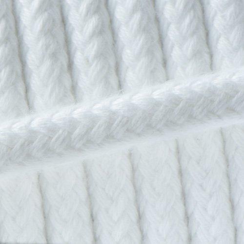 White - Spun cord - Ø 10mm.