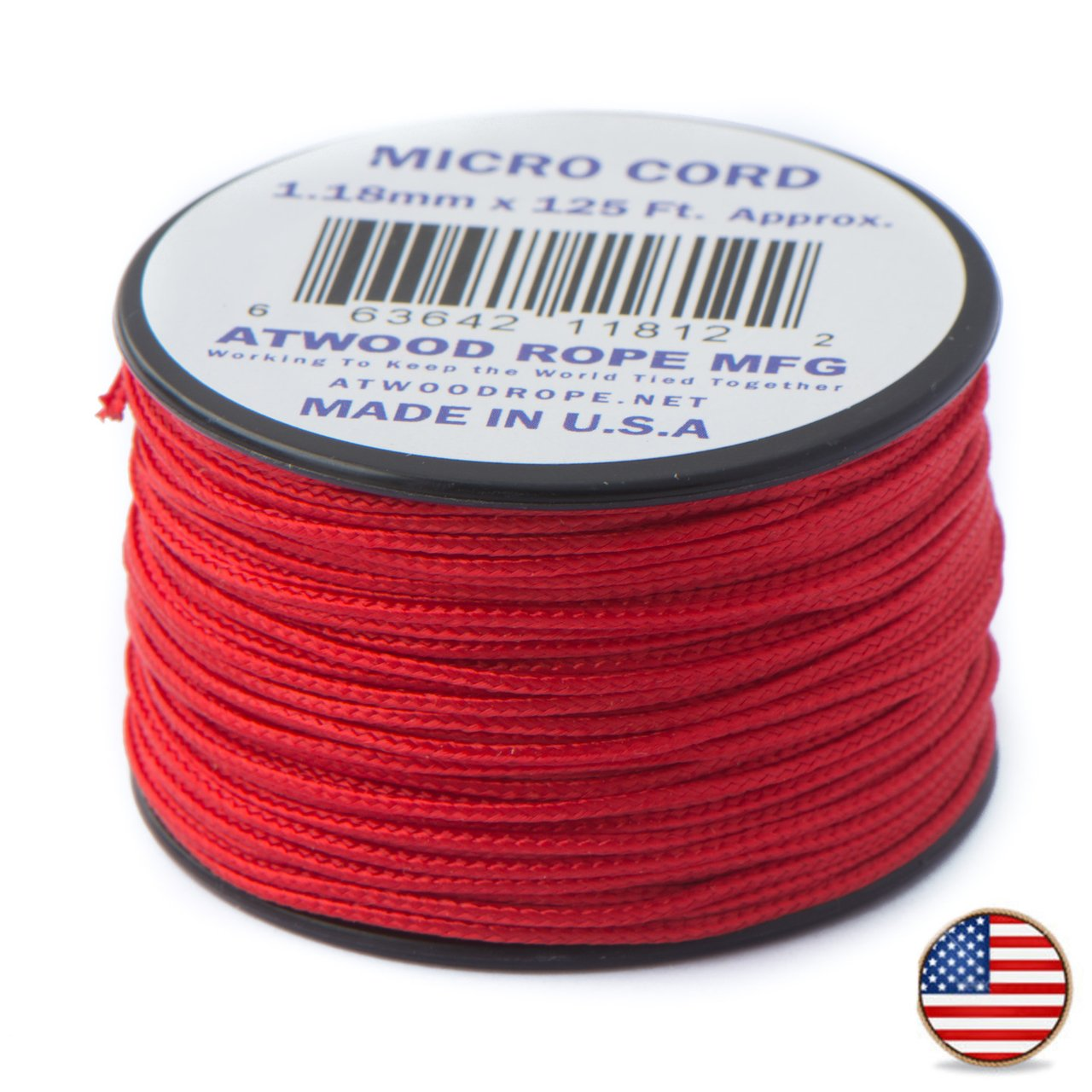 38 mtr. Red - Micro Paracord