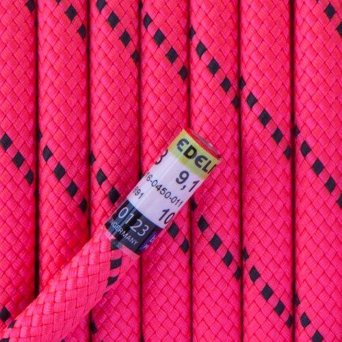 Edelrid Diver Lite 9,1 mm. Neon Pink - Per Meter