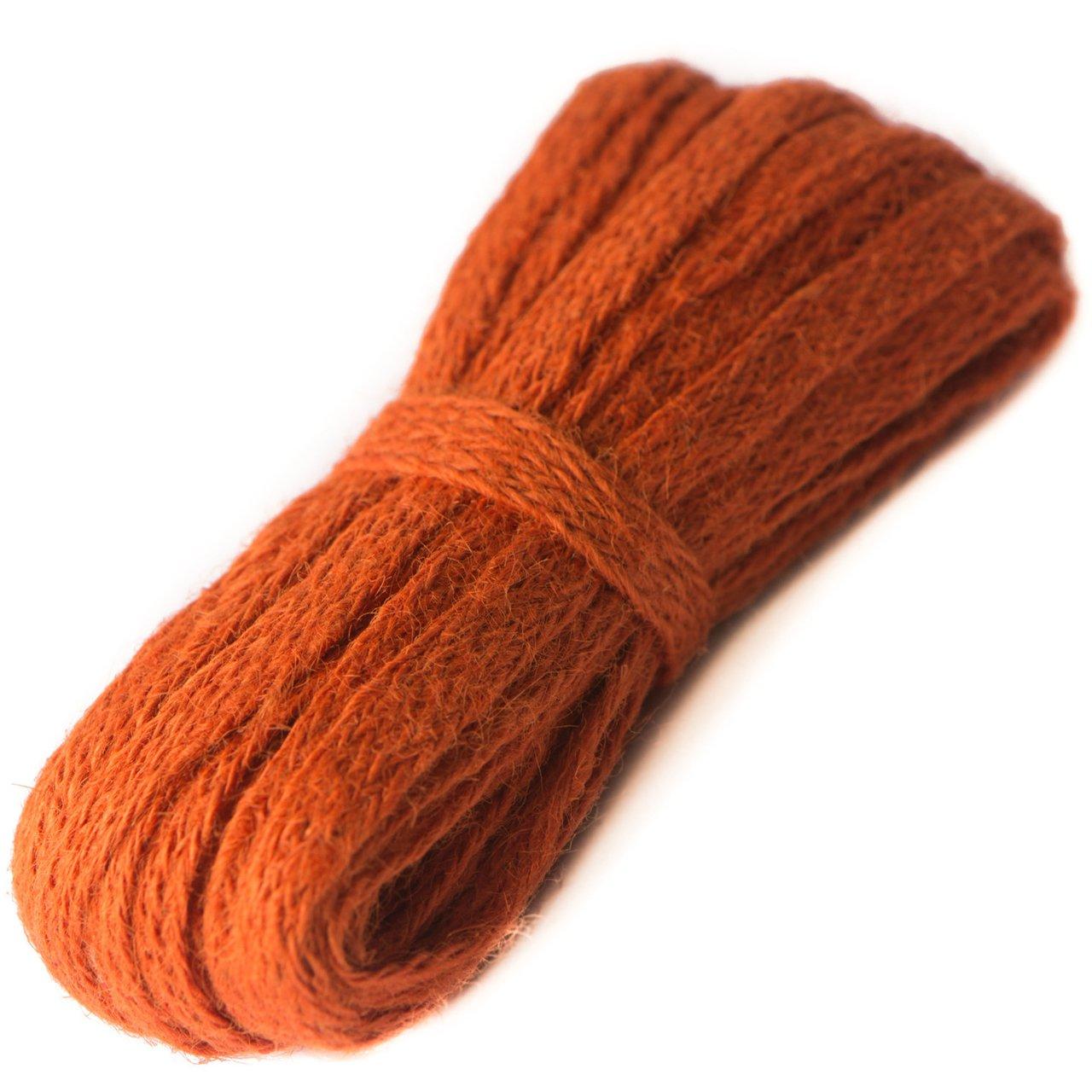 Jute Ribbon - Orange