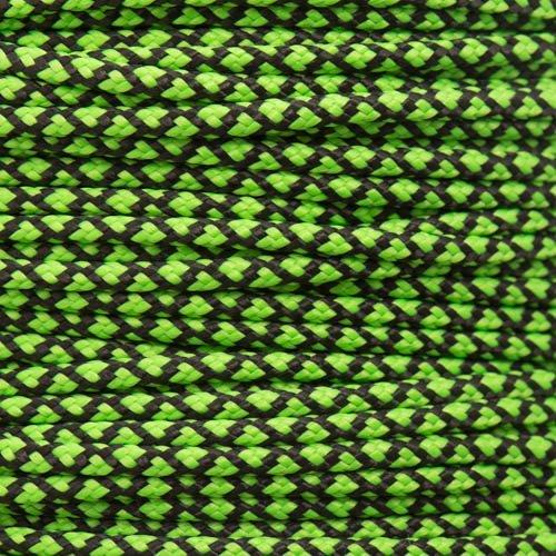 Neon Green DIAMOND Paracord Type II