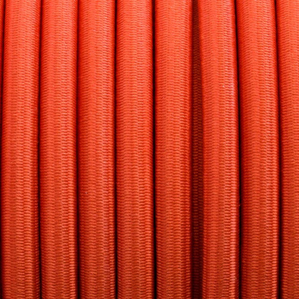 Orange - Elastic Cord 6 mm